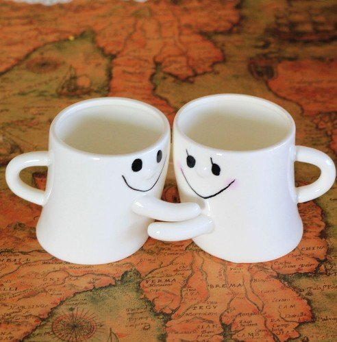 cute couple coffee mugs