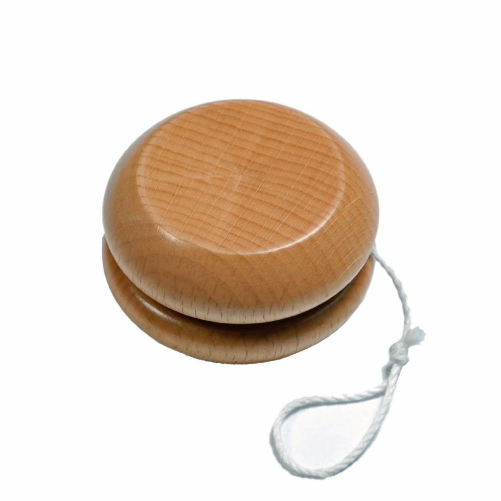 wooden yo yo