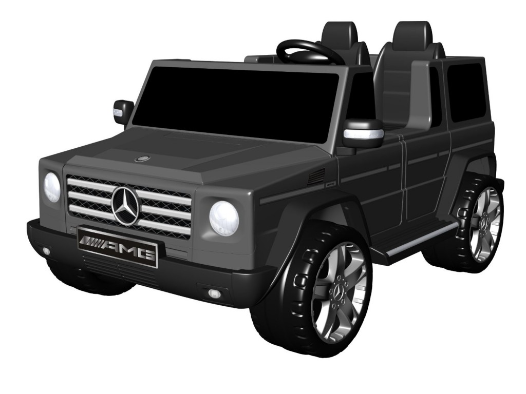 black mercedes for kids