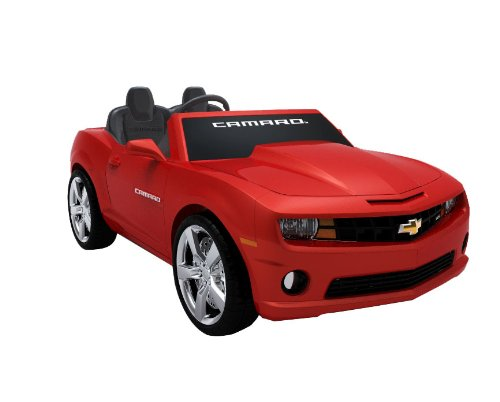 chevrolet camaro ride on for kids