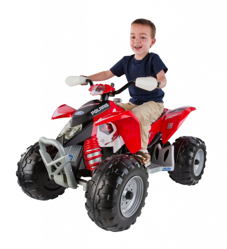 electric red quad for boys