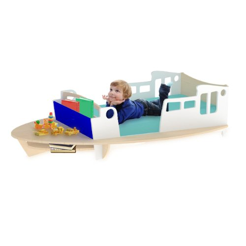 coolest boat Toddler Bed