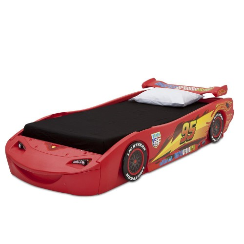Disney Cars Twin Bed with Lights