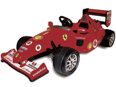 Ferrari electric car for kids
