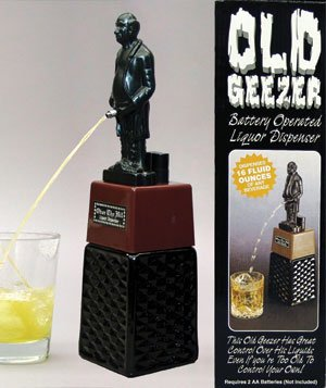 funny liquor dispenser