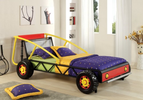 metal car bed