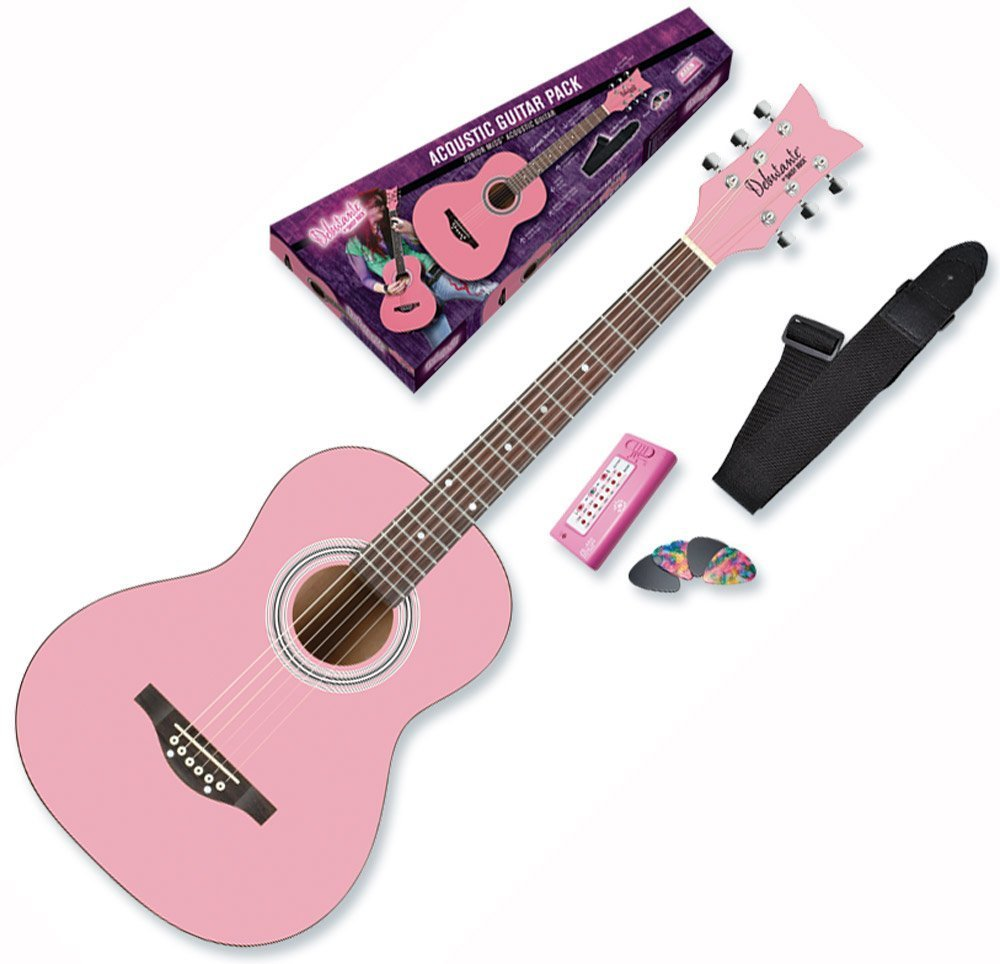 pink guitar for girls