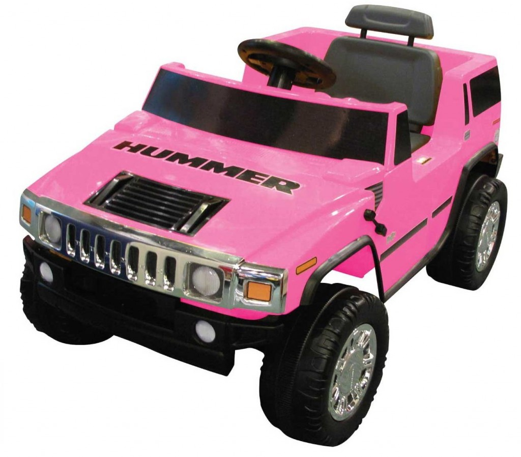 pink hummer for kids to drive