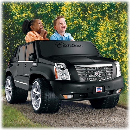 power whels black escalade for kids