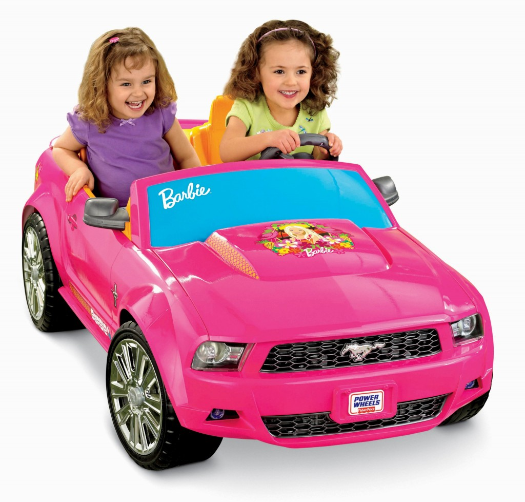 pink mustang for girls