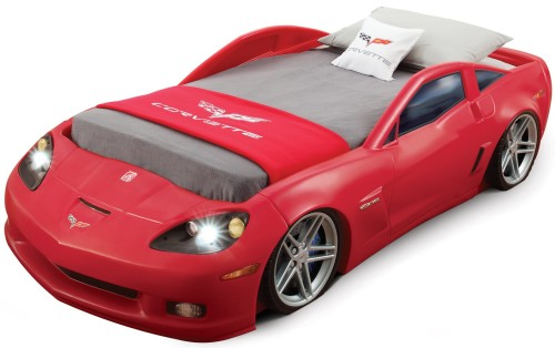 Red Corvette Bed for Tddlers