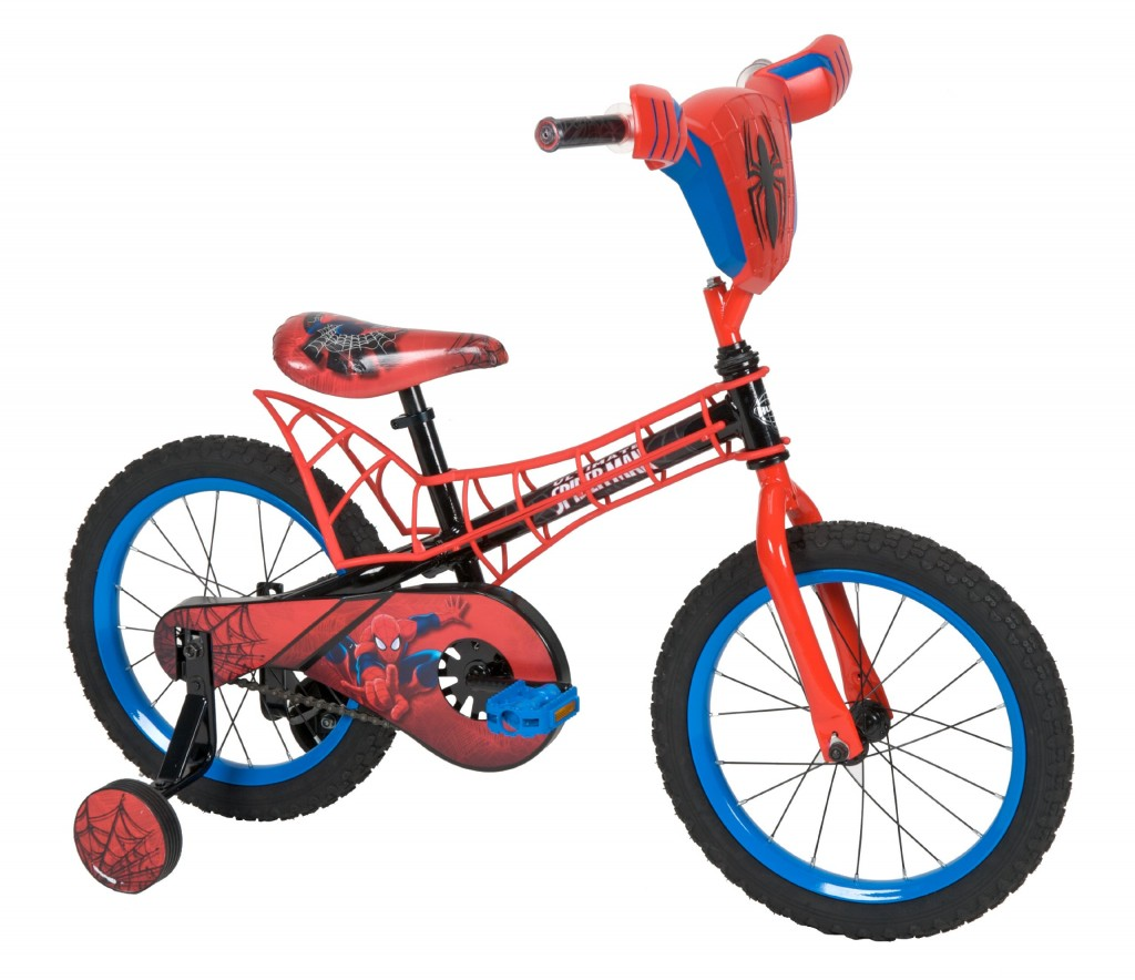 spiderman bike