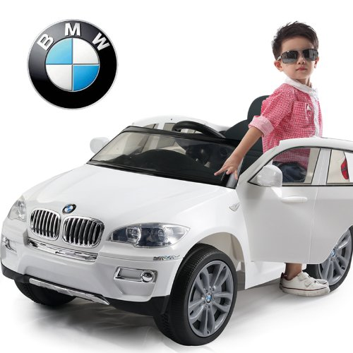white BMW for kids