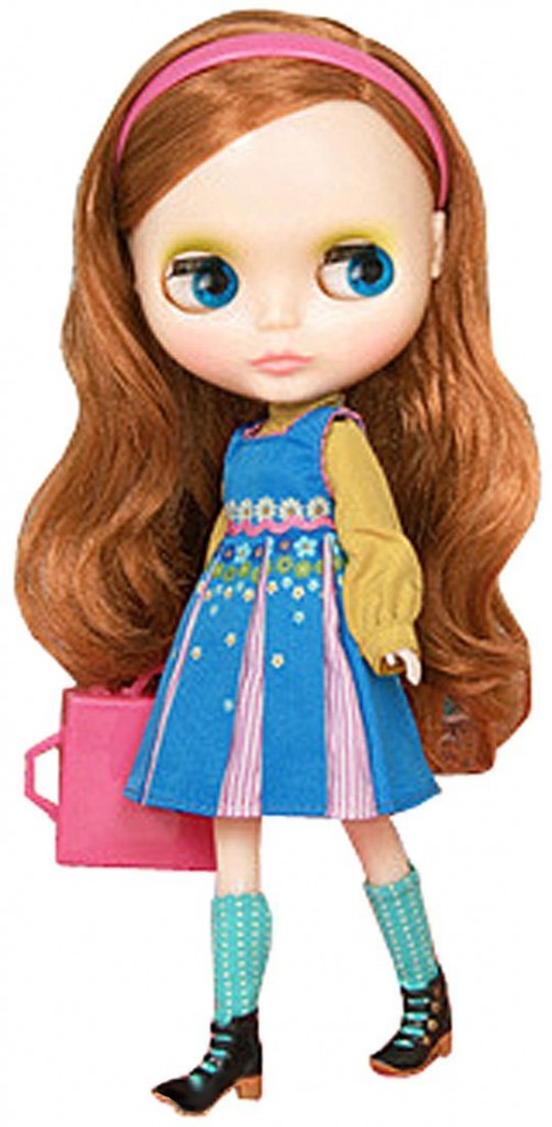 beautiful Blythe doll with red hair