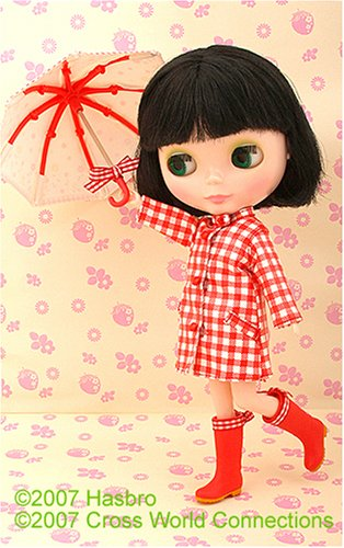 Blythe doll with umbrella