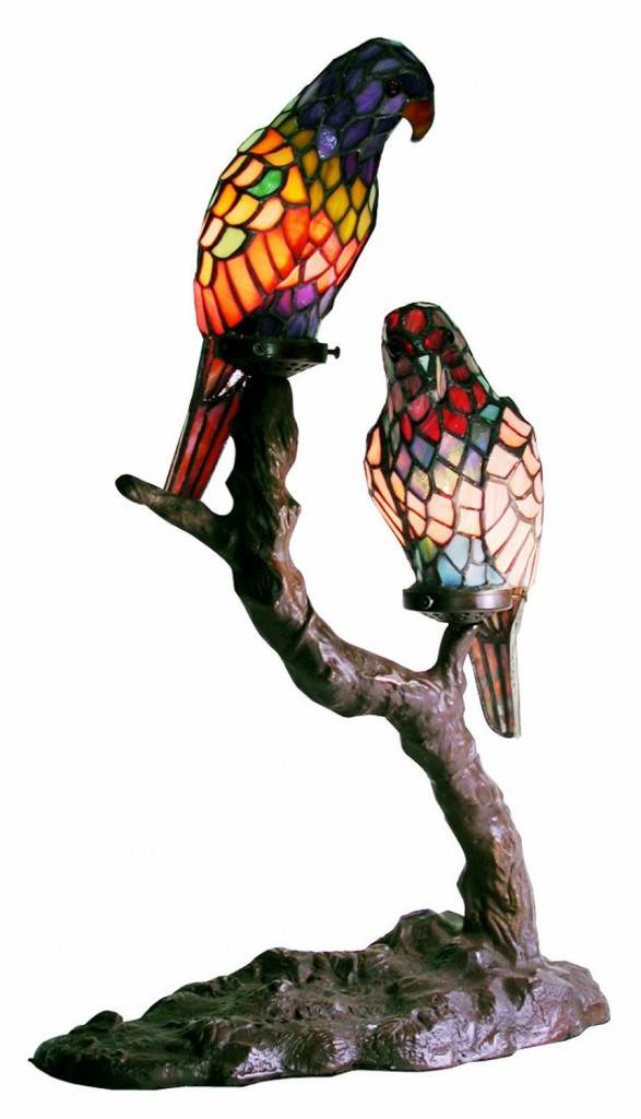 birds lamp