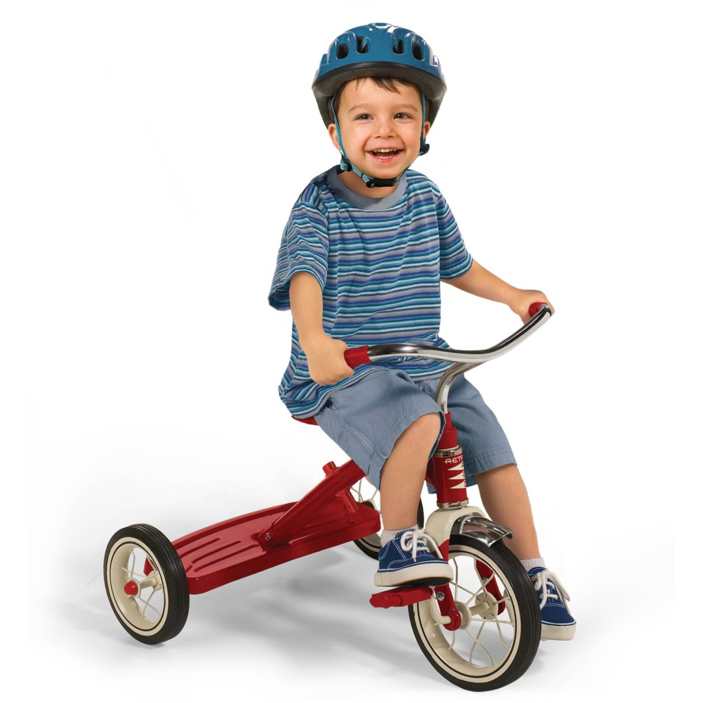 Old fashioned kids tricycle