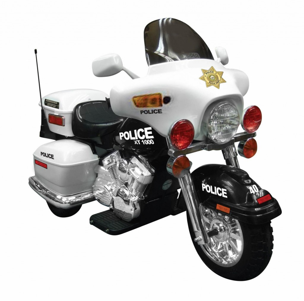 police motorcycle for boys