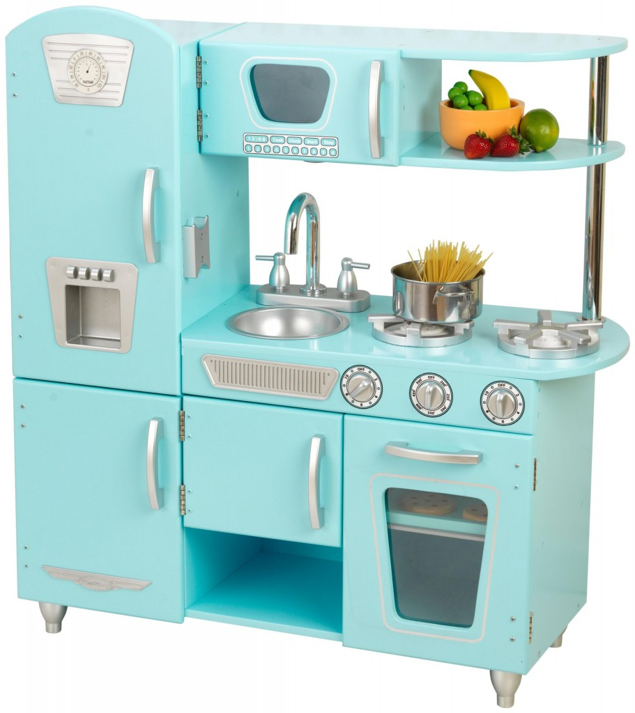 Kidkraft Vintage Play Kitchen Set Blue