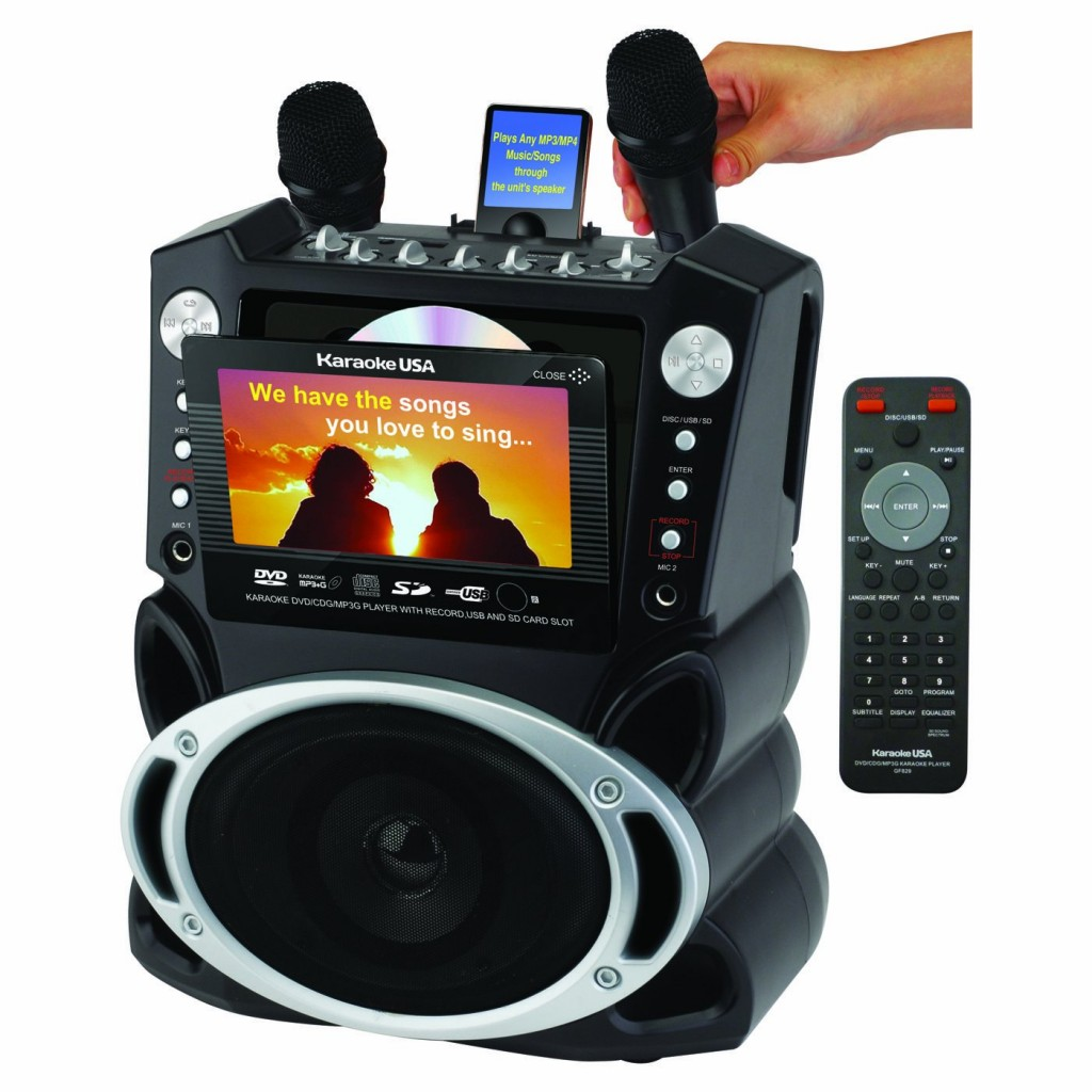 affordable karaoke machine