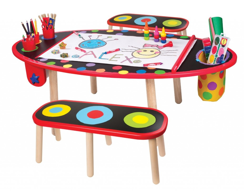 cute art desk