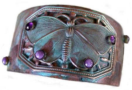 Cute Butterfly Cuff Bracelet