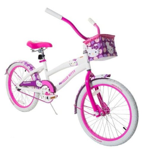 Cute Hello Kitty Girl's Cruiser Bike
