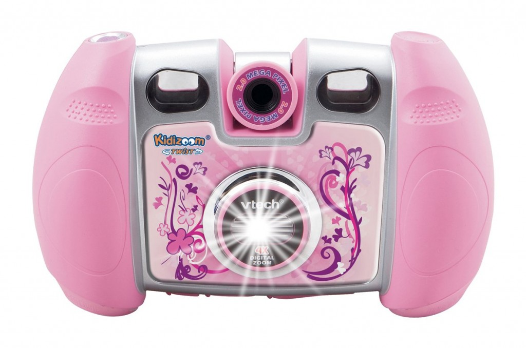cool electronic gift idea for 5 year old girls pink digital camera