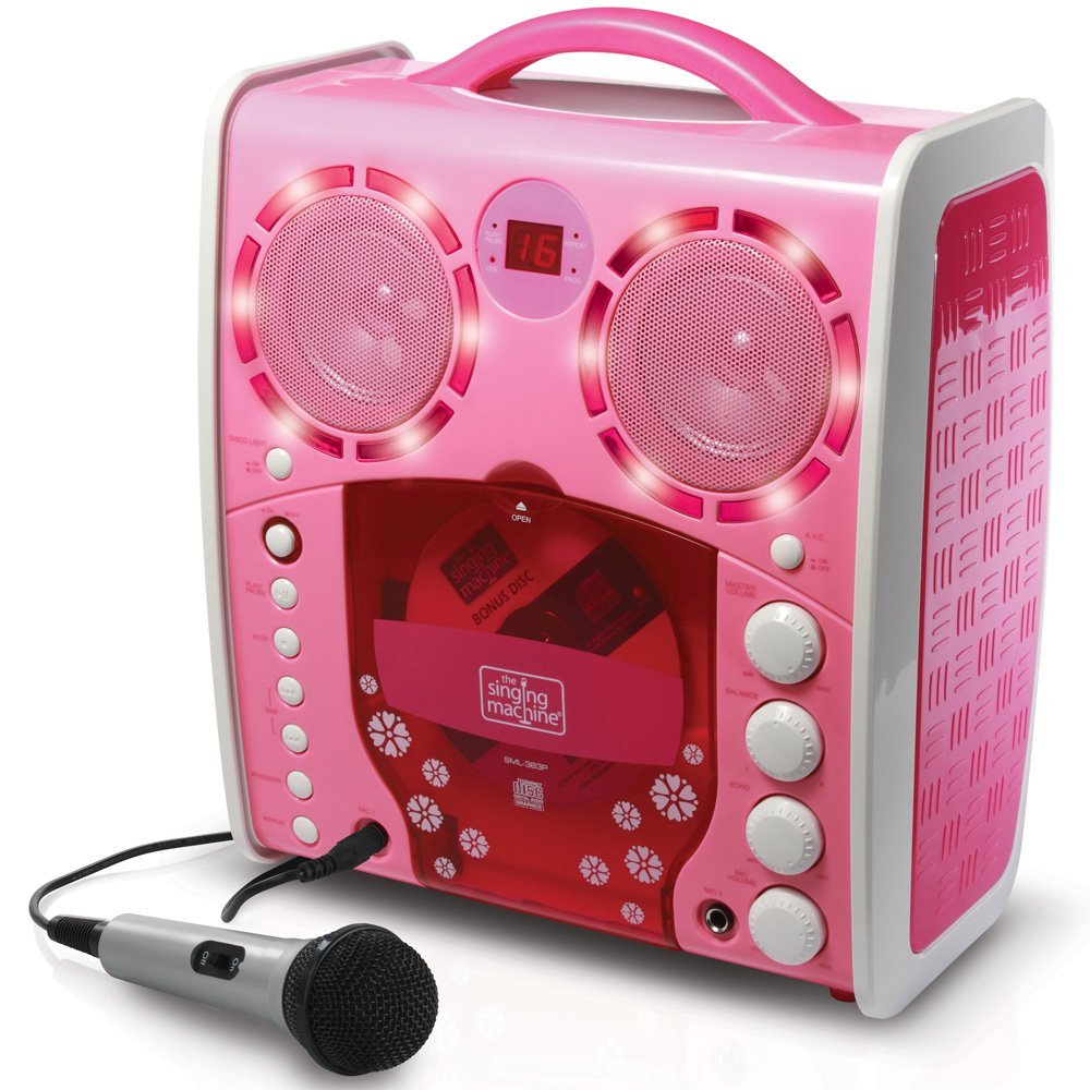 Pink Karaoke Player for Girls