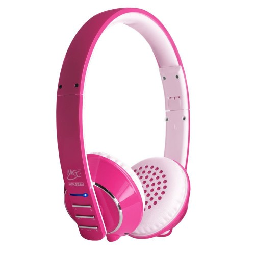 pink headphones wireless