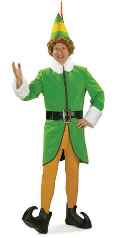 Elf Deluxe Costume for Adults