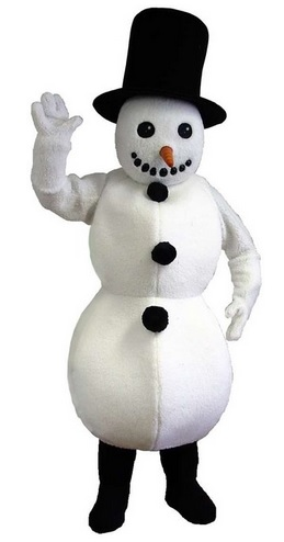 Best Snowman Lightweight Mascot Costume