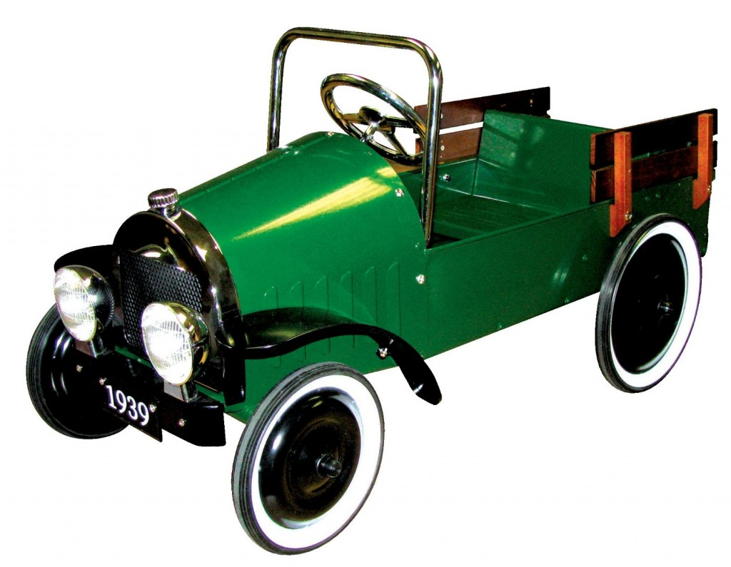 Classic Jalopy Pedal Pick Up Truck, Green