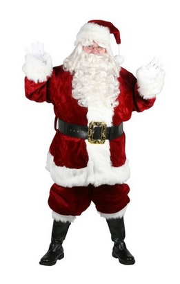 best santa claus costume for adults