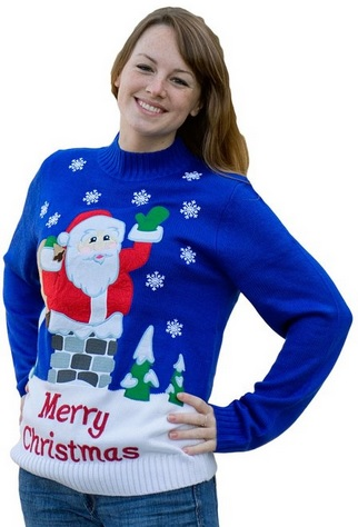 Cute and Fun Merry Christmas Sweater for Women