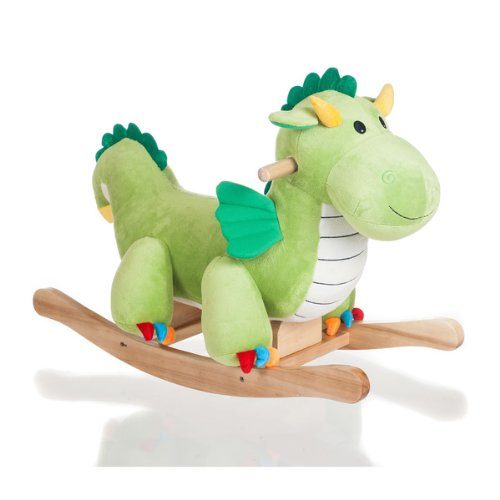 dragon plush rocker