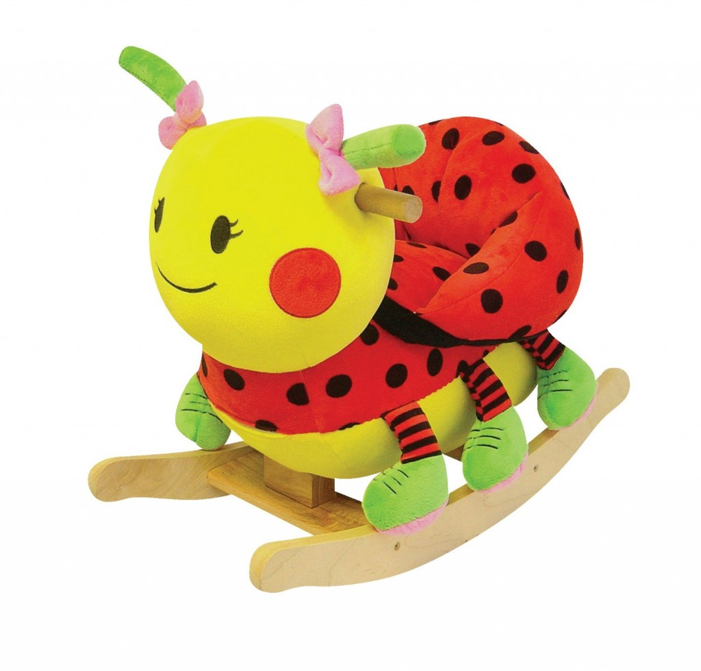 Lady Bug Rocker with Musical Sound