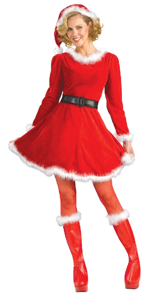 cute Mrs. Claus Christmas Costume