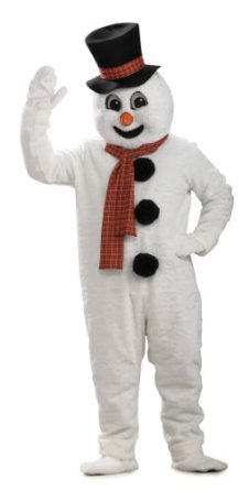 cute snowman costume for adults