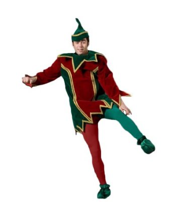 Christmas elf costume for men