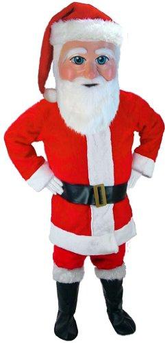 Santa Claus Lightweight Mascot Costume