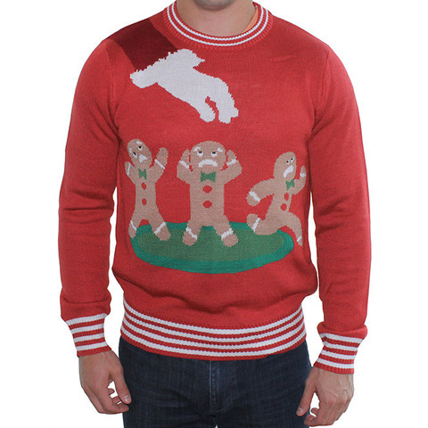 Gingerbread Nightmare Sweater