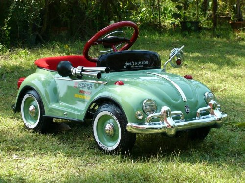 green beetle pedal car for sale