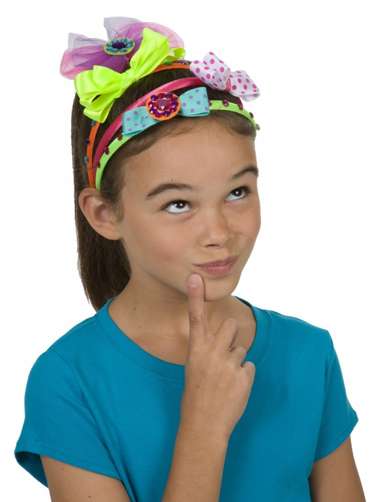 headband kit for girls