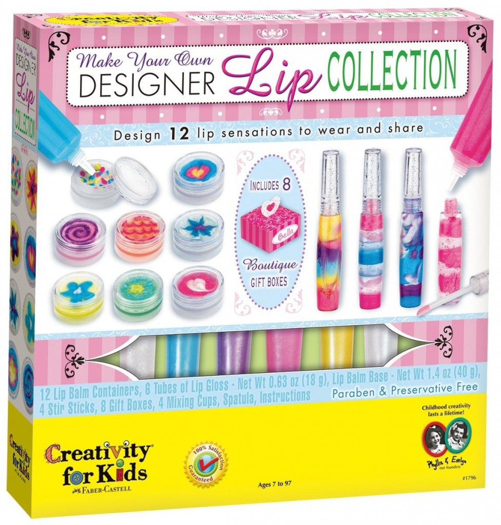 fun lip balm making kit for girls