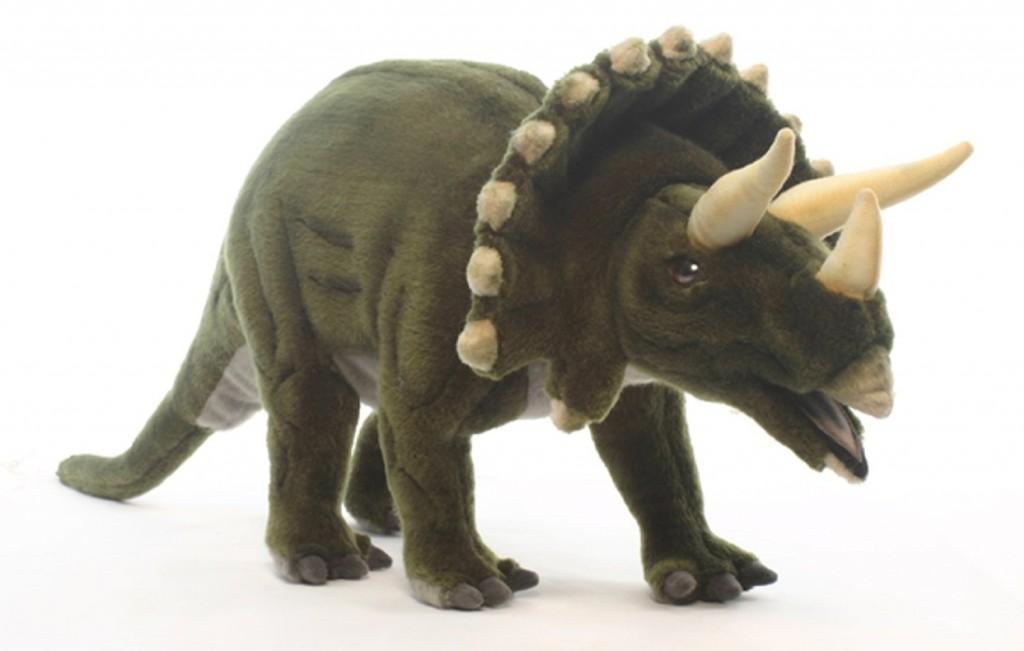 plush triceratops dinosaur