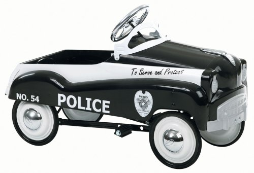Beautiful Police Pedal Car for Kids