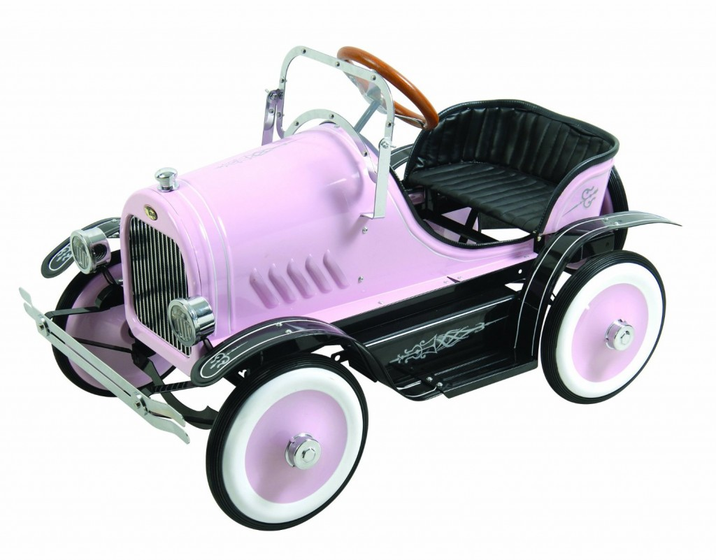Pink Roadster Pedal Car
