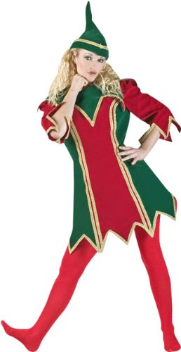 fun elf costumes for women