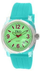Aqua Green Dial Watch